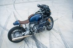 A BMW R100 RS resto-mod for the 21st century.