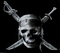 Jolly roger (LOVE)- I have an obsession for Skulls anyway
