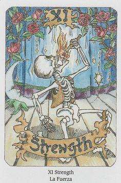 Tarot of the Dead- Strength