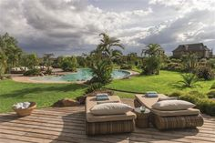 Segera Retreat - Laikipia Plateau | Kenya - Overlooking snow-capped Mount Kenya, beautifully renovated stables form the core of the lodge, filled with selected art from locally and internationally acclaimed African artists - http://www.abercrombiekent.com.au/kenya/laikipia/segera-retreat.cfm