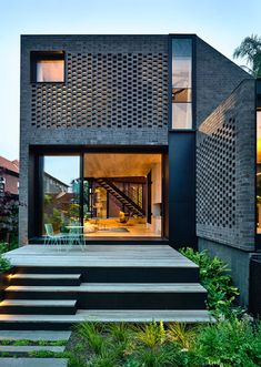 A Stacked Concrete House Best Picture For city House Architecture For Your Taste You are looking for something, and it Plans Architecture, Residential Architecture, Interior Architecture, Amazing Architecture, Pavilion Architecture, Japanese Architecture, Sustainable Architecture, Facade Design, Exterior Design