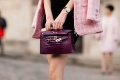 Street style from Paris haute couture spring 2015 gallery Hermes Kelly Bag, Spring 2015, Stella Mccartney, Fendi, Tory Burch, Dior, Louis Vuitton, Street Style, Style Inspiration