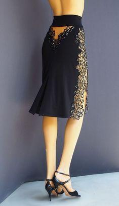 Tango Mode - All Skirts Women's Fashion Dresses, Sexy Dresses, Cute Dresses, Tango Dress, Ballroom Dress, Ladies Dress Design, Dress Patterns, Creations, Jeans