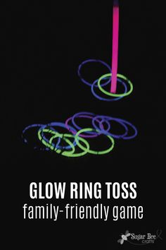 Fall is the perfect time to spend time outdoors being active with your family. This family-friendly glow-in-the-dark ring toss game is so easy to throw together and will provide hours of entertainment. If incontinence is preventing you from playing with your kids like you want to, give Depend® FIT-FLEX® Underwear a try. They'll help keep you drier during family time.