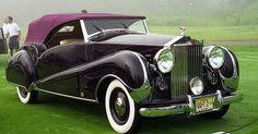 1947 Rolls Royce Silver Wraith JS Inskip Convertible Cabriolet