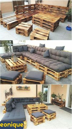 15 Top DIY Home Furniture Projects We live in a world where it's very easy to buy the things we need like furniture or home decorations and with See more ideas about Diy furniture, . Read Top DIY Home Furniture Projects Pallet Garden Furniture, Couch Furniture, Furniture Projects, Outdoor Furniture Sets, Furniture Design, Rustic Furniture, Antique Furniture, Furniture Stores, Palette Furniture