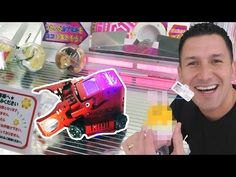 We came across an arcade game called Carrybot Catcher on our recent trip in Japan. This game allows the player to control a little robot that must pick up li. Cool Robots, Game Calls, Arcade Games, Youtube, Diy, Bricolage, Do It Yourself, Youtubers, Homemade