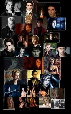Sexiest vampires!  (A collage I should have made earlier.Better late than never.)