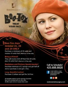 Boo-Tox: Treat your face!