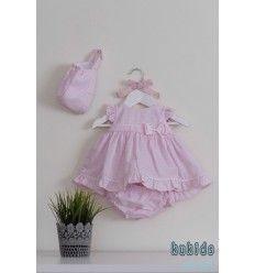 Vestido Bebé Rosa de Dolce Petit