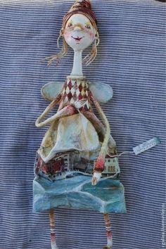 """Кукла """"Венецианский ангел"""" - венеция,ангел,италия,кукла ручной работы"""