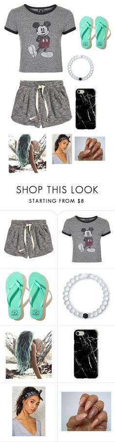 """""""Untitled #25"""" by lemonitadr on Polyvore featuring H&M, Topshop, Hollister Co., Lokai, Recover and Nasty Gal"""
