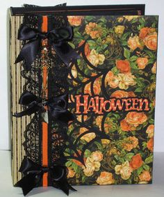 Hey, I found this really awesome Etsy listing at https://www.etsy.com/listing/225850627/ooak-handmade-scrapbook-album-halloween