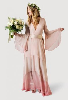 20 Wedding Dresses for the Bohemian Bride via Brit + Co.