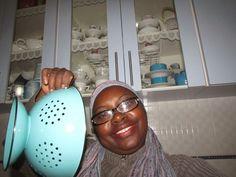 Construindo Minha Casa Clean: Cozinha Azul Maravilhosa da Leitora Cida Souza!