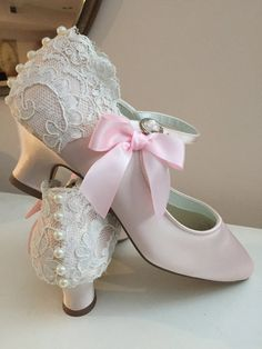 Wedding Shoes  Lace Wedding Shoes  Vintage Style Shoes by Parisxox