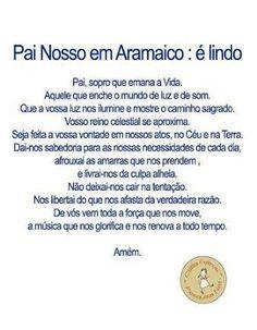 Pai Nosso em Aramaico.