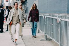 Street Looks at New York Fashion Week Spring/Summer 2016 | Vogue Paris