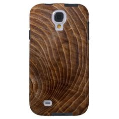 Tree rings Samsung Galaxy S4 case #Wood #wooden