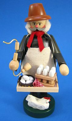 Farmer Chicken Eggs German Smoker