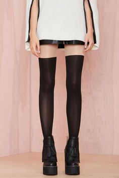 Sock It to Me Tights | Shop What's New at Nasty Gal