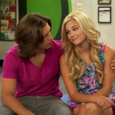 Last episode of Kickin' It with Olivia Holt I cried