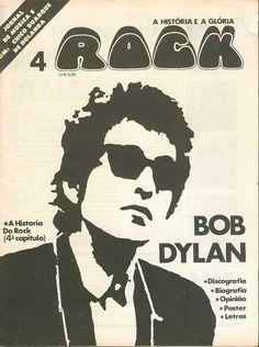 BOB DYLAN Rock Jornal magazine special Brazil early 70s RARE