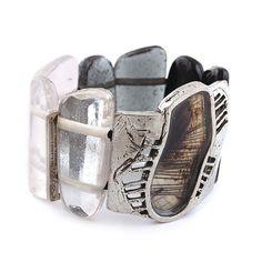 Natural Glass Bracelet