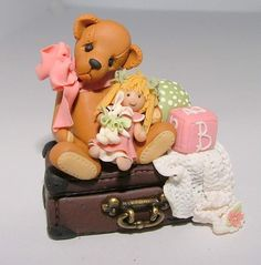 Miniature Bear Collectables by Manda