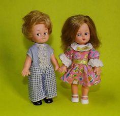 Mini Dolls Boneca Antiga João E Maria 70