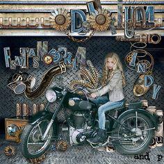 FANTASMAGORIA - Deep Delirium by Doudou s Design http://digital-crea.fr/shop/index.php… Photo Marcel M Vermey use with Permission