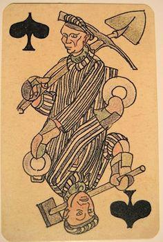 Boris Kobe Concentration camp Tarot