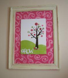 Inspiring Creations: Button Tree Artwork