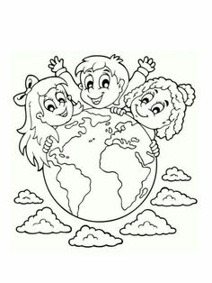 These chiropractic related coloring sheets for kids will provide a fun activity for the young ones in your practice while they wait for their next adjustment! Coloring Sheets For Kids, Colouring Pages, Art Rubric, Earth Day Activities, World Environment Day, Kids Around The World, Preschool Education, Drawing Projects, Child Face