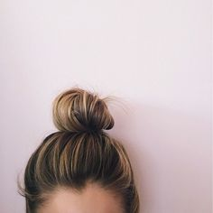 Top knot Saturday #goto #hairstyles #topknot #weekendhair #saturday
