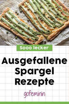 Lecker, leicht und fix gemacht: 4 kreative Spargelrezepte #spargelrezepte #spargel #spargelpizza #spargelrezeptevegetarisch #spargelrezeptekalorienarm Asparagus, Green Beans, Vegetables, Drinks, Food, Skinny Recipes, Best Asparagus Recipe, Healthy Food, Drinking