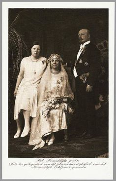 Wilhelmina and her family.