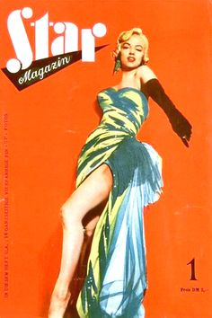 1956: Star Magazin (German) magazine cover of Marilyn Monroe .... #normajeane #vintagemagazine #pinup #iconic #raremagazine #magazinecover #hollywoodactress #monroe #marilyn #1950s