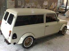 custom austin mini van - Google Search