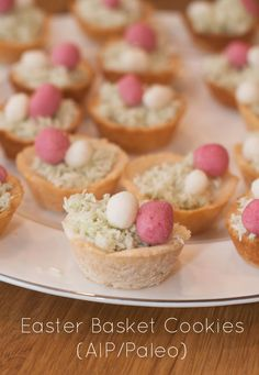 Easter Basket Cookies (AIP/Paleo)