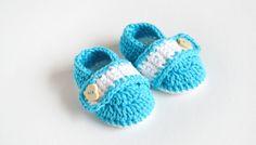 SUMMER DREAMS - Crochet Baby Booties