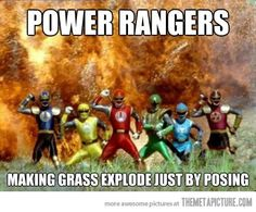 Making grass explode just by posing.