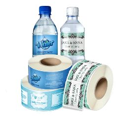One of our main activities is Water Bottle Labels production