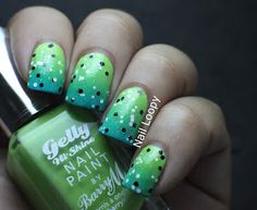 nail loopy: BARRY M GELLY GRADIENT NAILS & ESSENCE 101 DALMATIONS