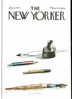 The New Yorker - ill. Saul Steinberg Más