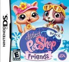 Nintendo Ds, Nintendo Games, Nintendo Switch, Ds Games, Mini Games, Shop Fans, Beach Friends, Electronic Art, Little Pets
