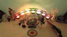 Smudge Blessing from Crystal Guidance — White Sage, Rose, Chakra Candles, and Crystals ♥