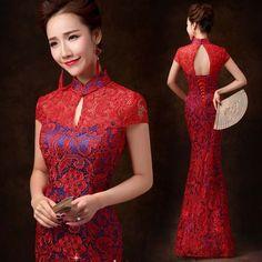 Chinese Wedding Dress Details