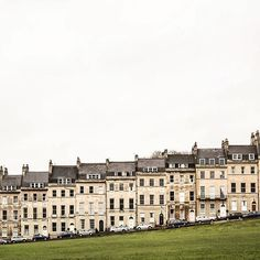 Royal Crescent, Bath, Somerset, England, United Kingdom, 2016, photograph by Louise Eaton.