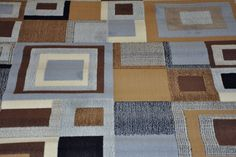 Blue And Tan Area Rugs 8x10 Area Rugs, Blue Area Rugs, Design Ideas, House Design, Quilts, Blanket, Home Decor, Blue Rugs, Decoration Home